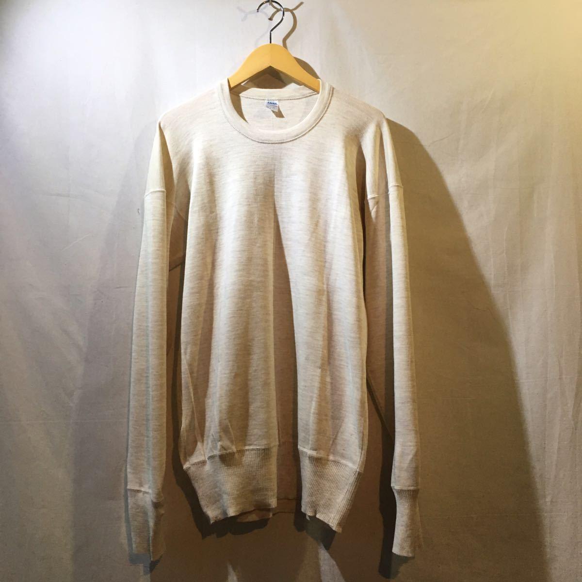 イタリア軍 1980's Dead Stock [Knit Sweater] セーター ニット ミリタリー ビンテージ フランス軍 イギリス軍 実物 ユーロ ヨーロッパ