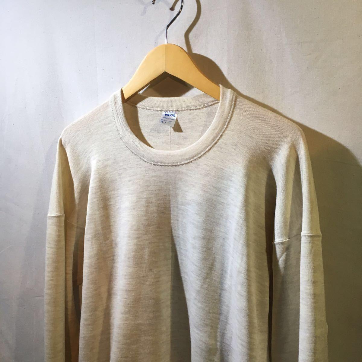 イタリア軍 1980's Dead Stock [Knit Sweater] セーター ニット ミリタリー ビンテージ フランス軍 イギリス軍 実物 ユーロ ヨーロッパ_画像5