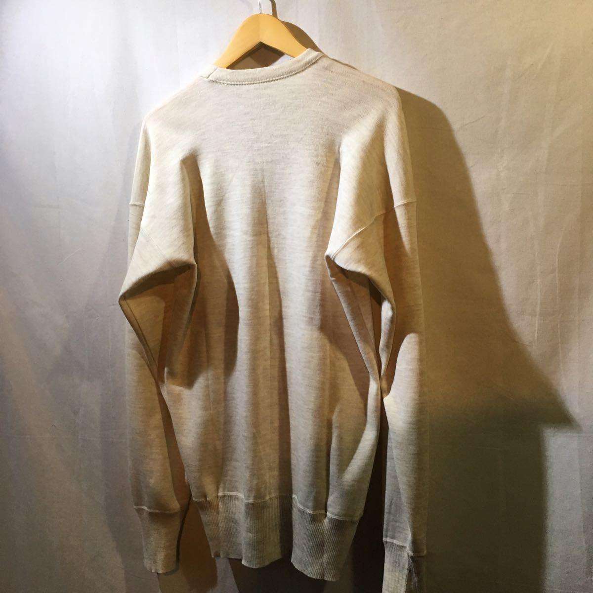 イタリア軍 1980's Dead Stock [Knit Sweater] セーター ニット ミリタリー ビンテージ フランス軍 イギリス軍 実物 ユーロ ヨーロッパ_画像8