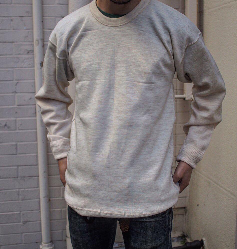 イタリア軍 1980's Dead Stock [Knit Sweater] セーター ニット ミリタリー ビンテージ フランス軍 イギリス軍 実物 ユーロ ヨーロッパ_画像2
