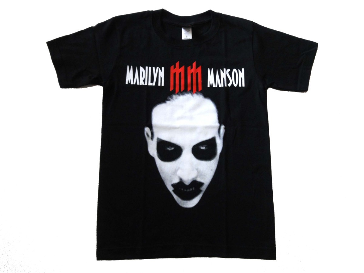 S・マリリン・マンソン MARILYN MANSON 145 バンドTシャツ