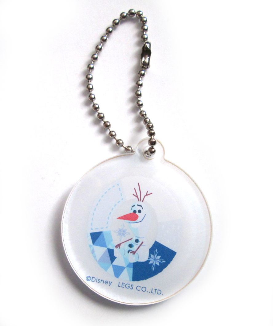 ☆ Anna and the Snow Queen 2 Cafe in OH MY CAFE TOKYO Acrylic Keychain Olaf