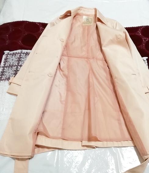 さくらピンクガーリートレンチコート Sakura pink girly trench coat_画像4