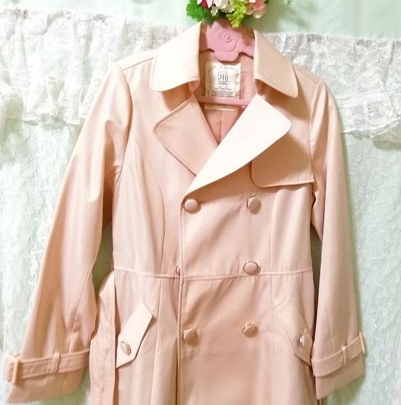 さくらピンクガーリートレンチコート Sakura pink girly trench coat_画像2