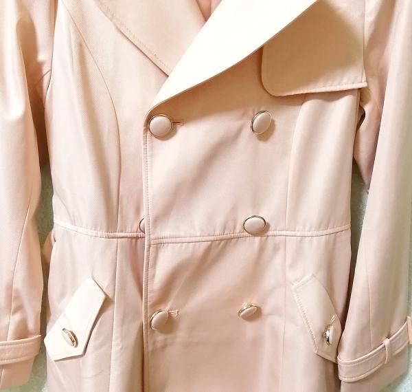 さくらピンクガーリートレンチコート Sakura pink girly trench coat_画像9