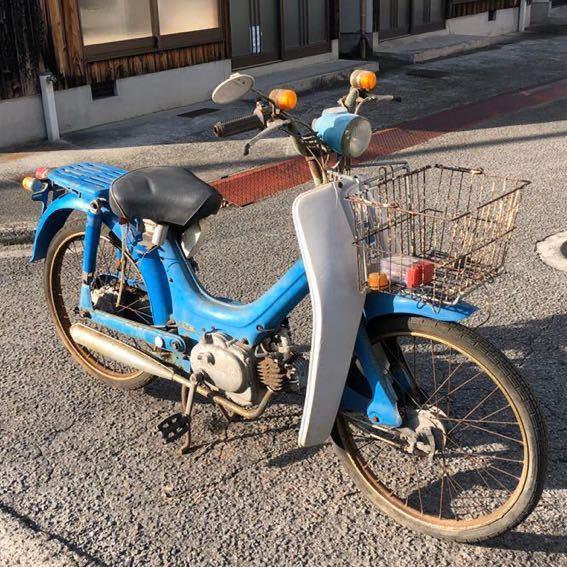 「HONDA ホンダ リトルホンダ PC50 モペッド 自転車バイク 昭和 部品取り レストアベース 現状 12-18」の画像2