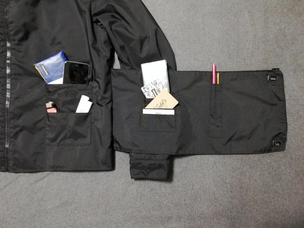 90s miumiu ARCHIVE Utility Jacket ナイロン ジャケット メンズ (HELMUT LANG PRADA SPORT プラダスポーツ ショルダー ボディバッグ 1999_画像4