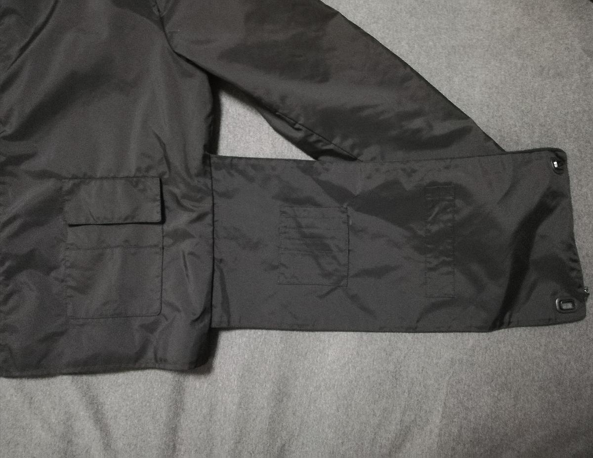 90s miumiu ARCHIVE Utility Jacket ナイロン ジャケット メンズ (HELMUT LANG PRADA SPORT プラダスポーツ ショルダー ボディバッグ 1999_画像3
