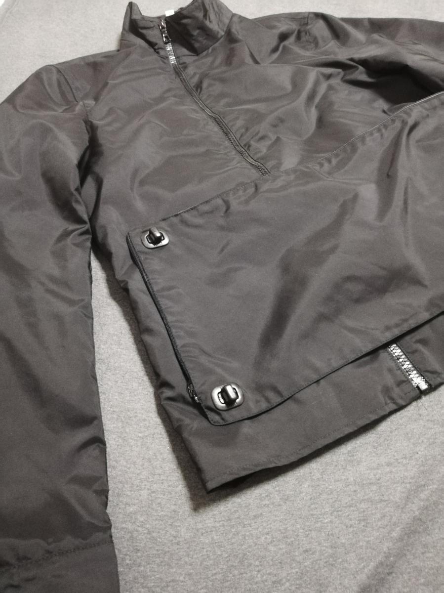 90s miumiu ARCHIVE Utility Jacket ナイロン ジャケット メンズ (HELMUT LANG PRADA SPORT プラダスポーツ ショルダー ボディバッグ 1999_画像6