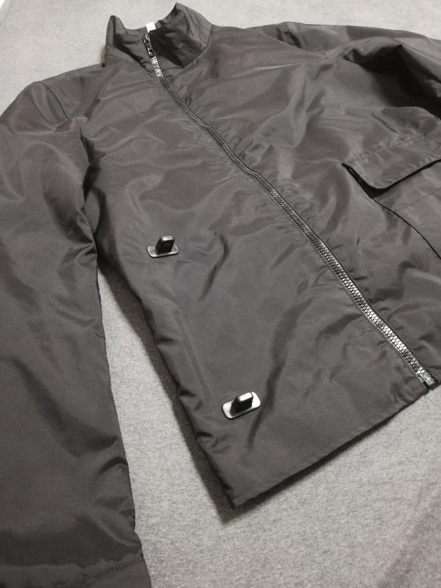90s miumiu ARCHIVE Utility Jacket ナイロン ジャケット メンズ (HELMUT LANG PRADA SPORT プラダスポーツ ショルダー ボディバッグ 1999_画像7