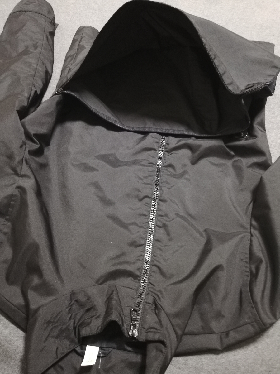 90s miumiu ARCHIVE Utility Jacket ナイロン ジャケット メンズ (HELMUT LANG PRADA SPORT プラダスポーツ ショルダー ボディバッグ 1999_画像8