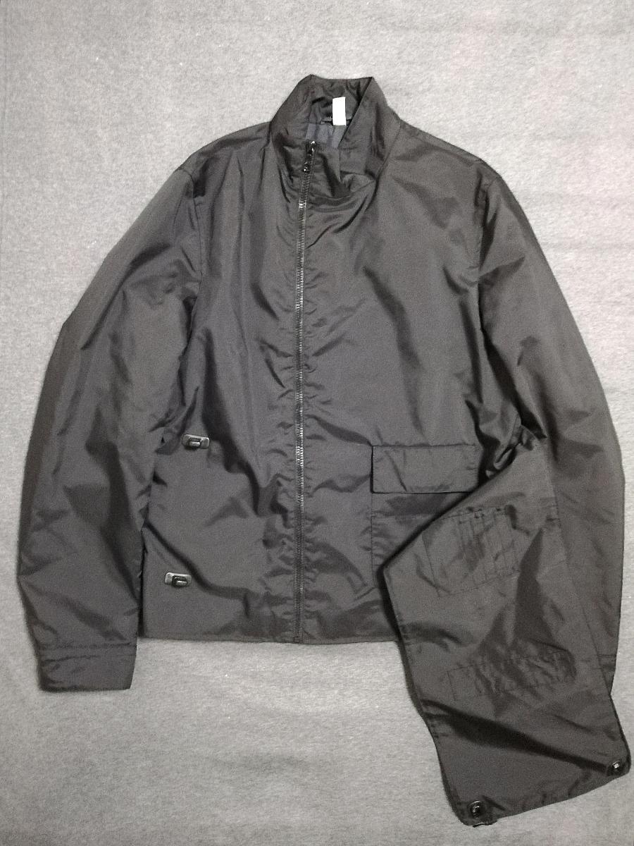 90s miumiu ARCHIVE Utility Jacket ナイロン ジャケット メンズ (HELMUT LANG PRADA SPORT プラダスポーツ ショルダー ボディバッグ 1999