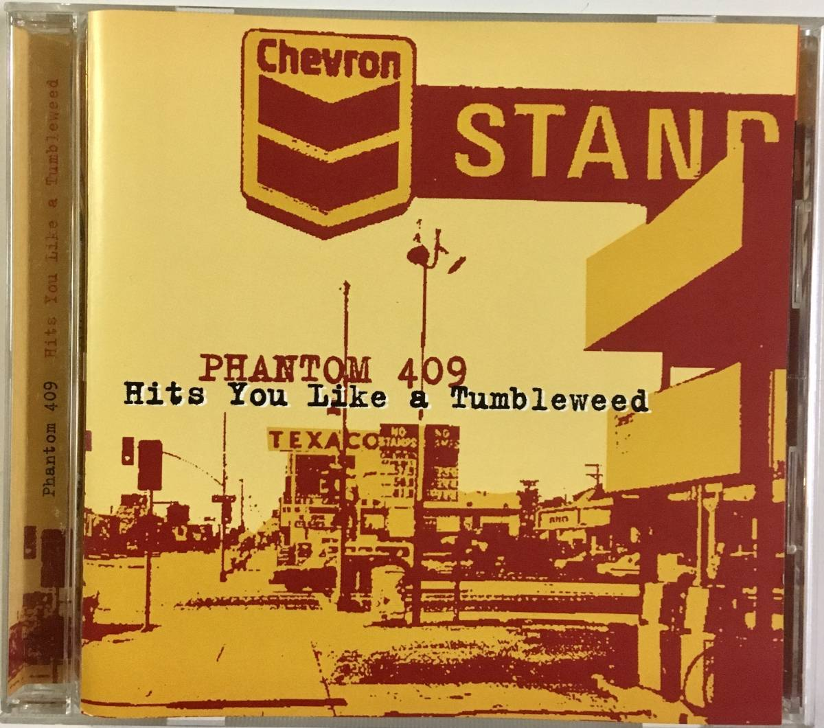 CD Phantom 409/Hits You Like A Tumbleweed ネオロカビリー サイコビリー runaway boys boppin'b roughnecks ace cats cruisers keytones_画像1
