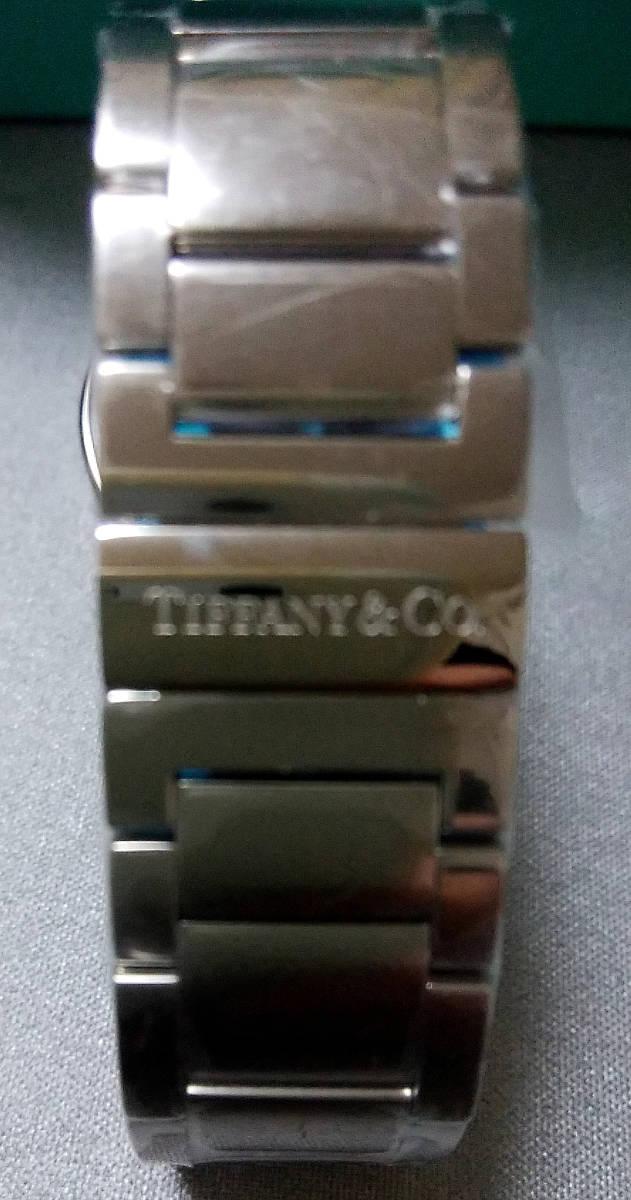 ◆新品半額以下・最安値◆TIFFANY&Co.ティファニー◆アトラスドーム・デイト◆メンズクオーツ腕時計◆金属ブレス☆送料無料の即決あり!_画像6