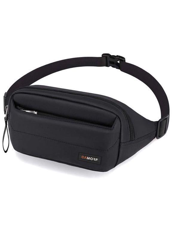 ランニング ポーチ ウエストバッグ 多機能ウエストポーチ 撥水 防汗 超大収納 調節可能