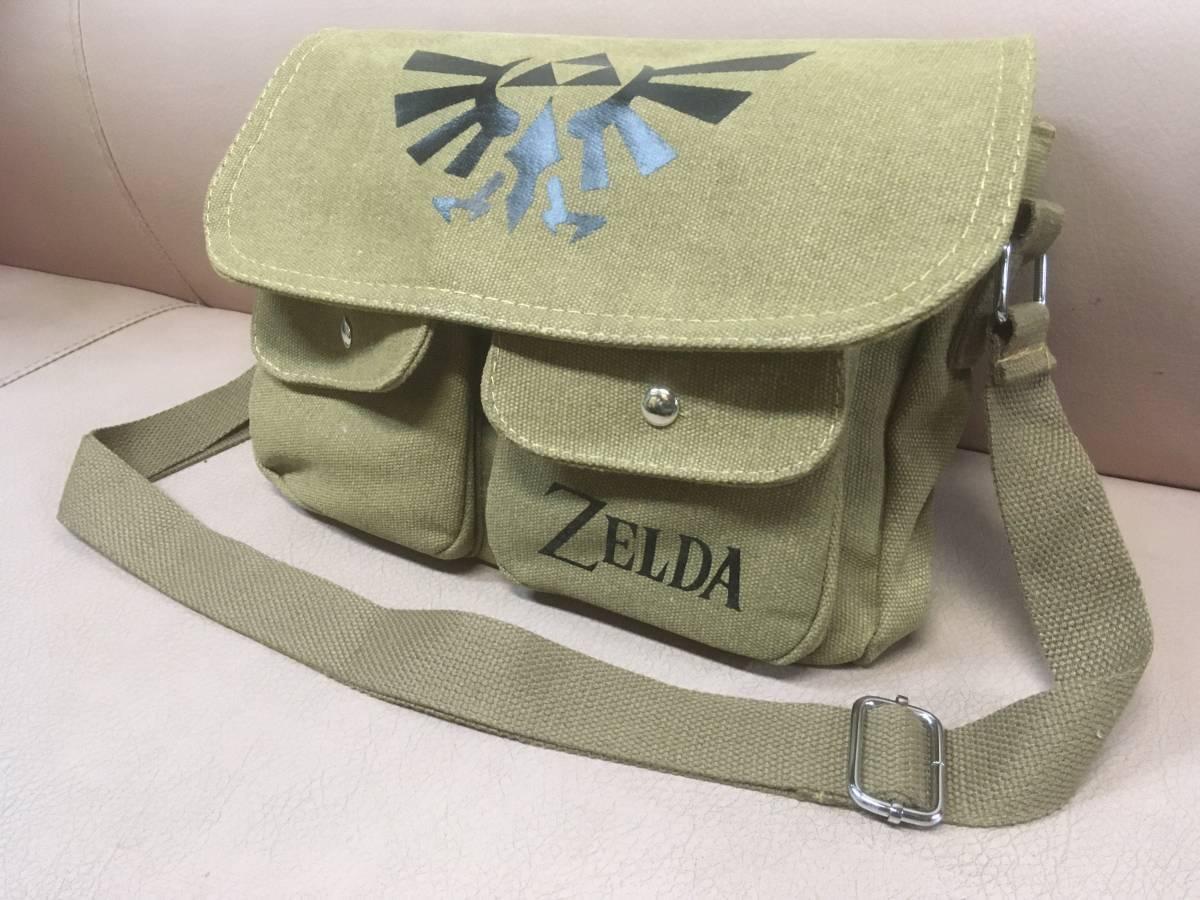 ゼルダの伝説 ショルダーバッグ 任天堂 Zelda ゼルダ レトロ ゲーム ファミコン_画像1