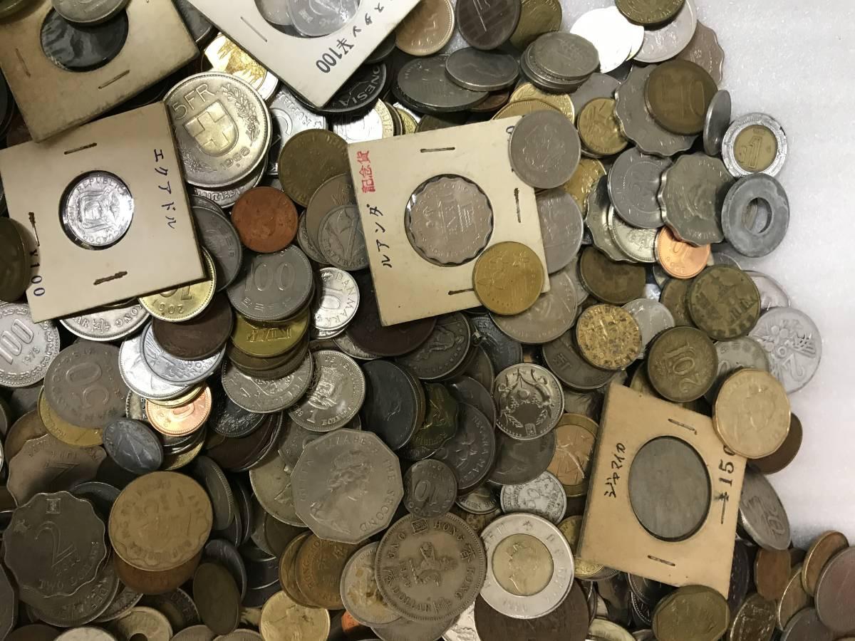 103312008 おまとめ 外国銭 硬貨 貨幣 海外 世界 コイン coin 約10キロ ガーナ パキスタン ジャマイカ 韓国 ルマンダ エクアドル 他_画像2