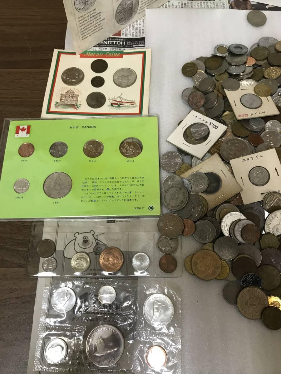 103312008 おまとめ 外国銭 硬貨 貨幣 海外 世界 コイン coin 約10キロ ガーナ パキスタン ジャマイカ 韓国 ルマンダ エクアドル 他_画像9