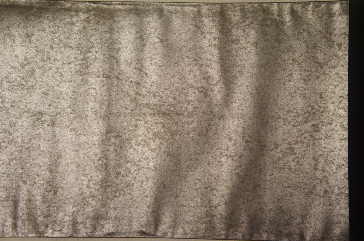 特選『紫紘』手織り黒銀箔地桃山障壁画模様袋帯[O11984]_『紫紘』手織り黒銀箔地桃山障壁画模様袋帯