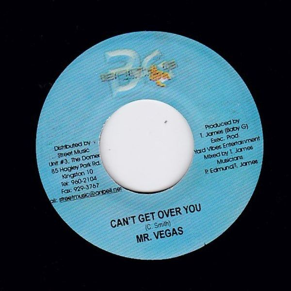 EPレコード MR. VEGAS / CAN'T GET OVER YOU (PELEAM)_画像1
