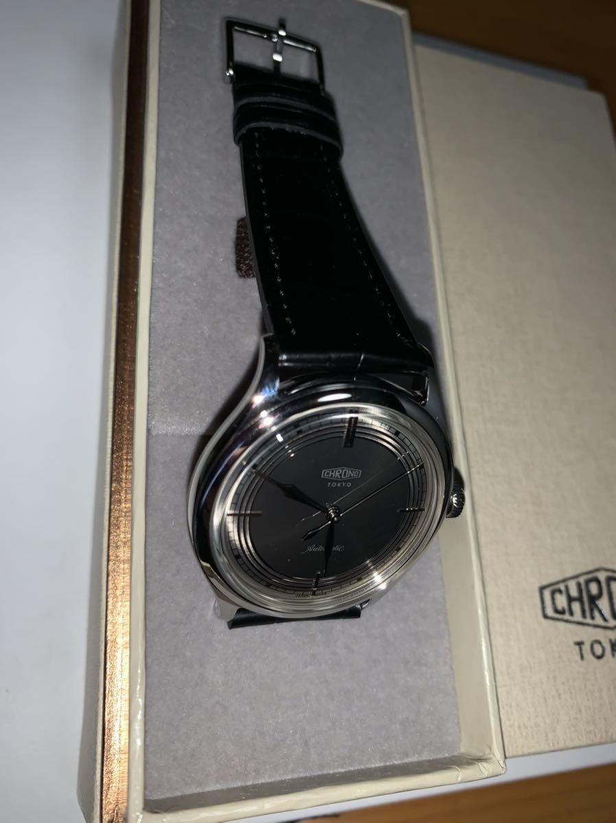サイン付き CHRONO TOKYO CLASSIC 独立時計技師浅岡肇 _画像5