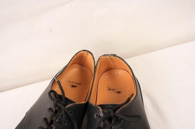 ドクターマーチン UK7/25.5cm-26.0cm/3ホール 黒 ブラック ブーツ レザー メンズ レディース dr.martens 中古 古着 dm3209_画像7
