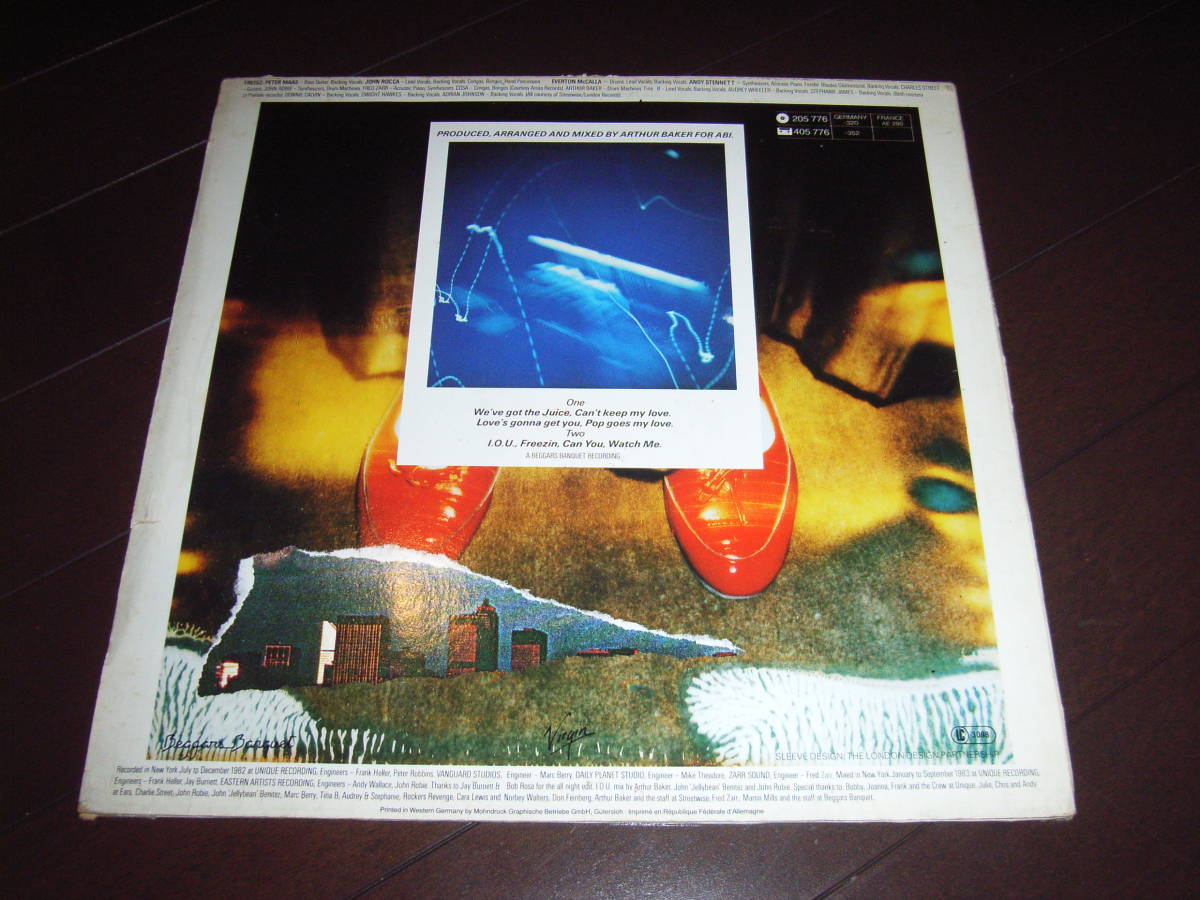 FREEEZ / GONNA GET YOU /LP/I.O.U./ARTHUR BAKER/エレクトロ/ブギー_画像2