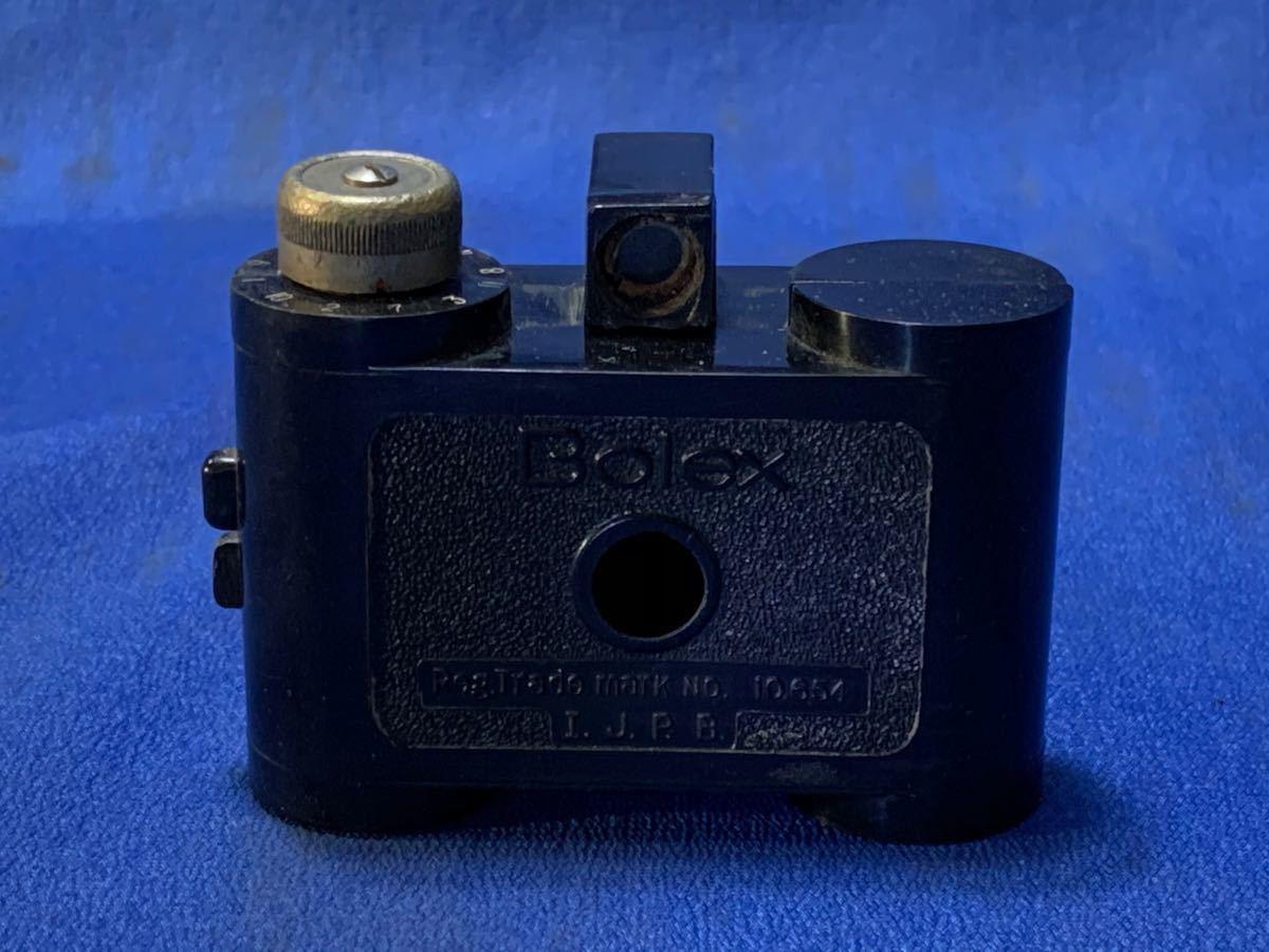 アンティーク 豆カメラ『 Bolex 』Reg.Trade mark NO.10.654 I.J.P.B.ミゼット判フィルムミニカメラ 共革製ケース付き_画像5