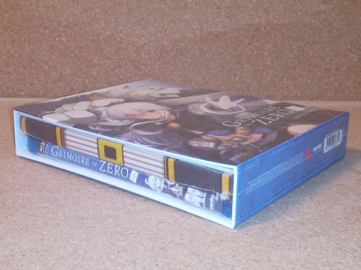 新品BD★ゼロから始める魔法の書 全12話 プレミアム版(ブックレット+6枚のアートカード) ブルーレイ 北米版[PS3,4再生可]
