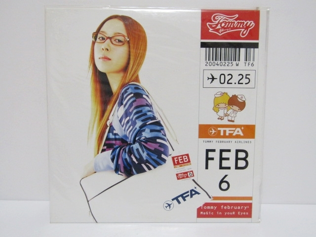 Tommy february6 「MaGic in youR Eyes」 生産限定盤 アナログ レコード 12インチ 新品 未開封_画像1