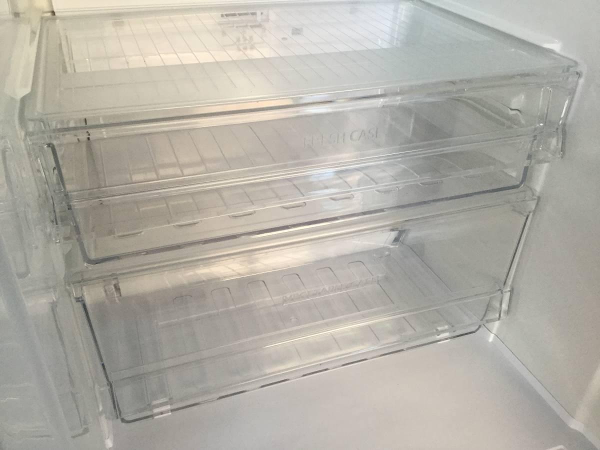『宮城 仙台 近郊 配達可』SHARP/シャープ 冷凍冷蔵庫プラズマクラスター搭載SJ-PD27Y-T ブラウン2014年製 270L 2ドアzt044ジ「1208-06」★_画像5