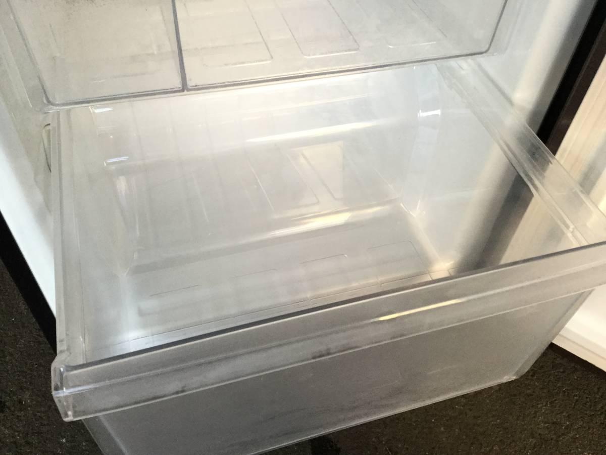 『宮城 仙台 近郊 配達可』SHARP/シャープ 冷凍冷蔵庫プラズマクラスター搭載SJ-PD27Y-T ブラウン2014年製 270L 2ドアzt044ジ「1208-06」★_画像8