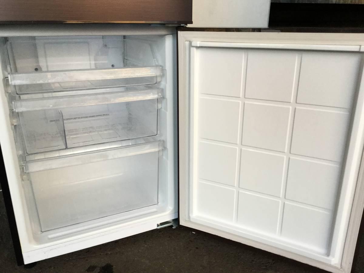 『宮城 仙台 近郊 配達可』SHARP/シャープ 冷凍冷蔵庫プラズマクラスター搭載SJ-PD27Y-T ブラウン2014年製 270L 2ドアzt044ジ「1208-06」★_画像7