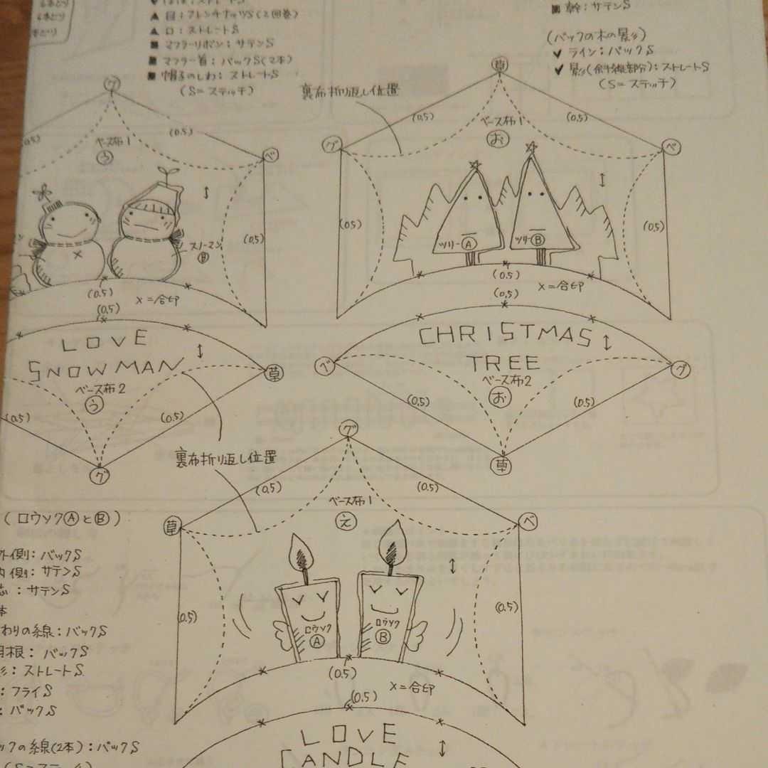 パッチワーク飾れるコースター手作りキット