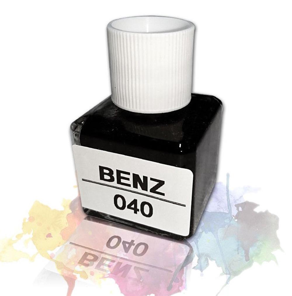 メルセデスベンツ#040 ブラック タッチペン タッチアップ ペイント 補修塗料 20ML (ブラシ付き) _画像1
