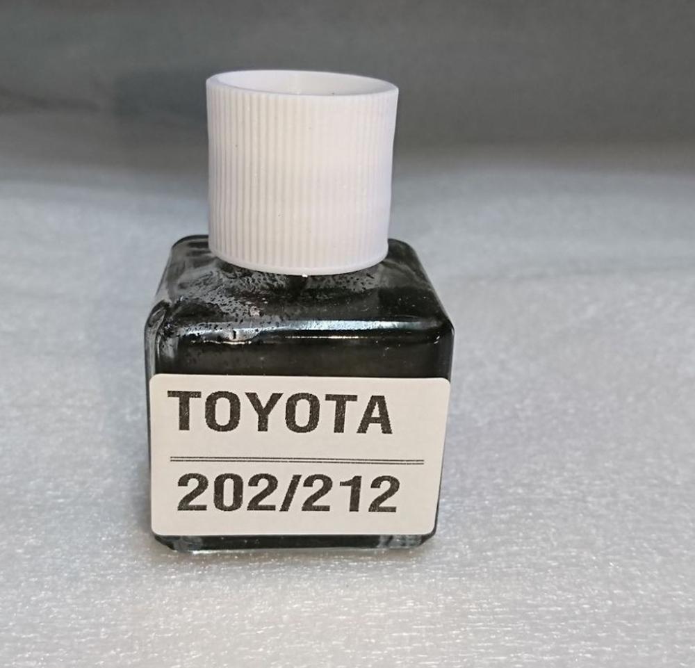 トヨタ#202 212 ブラック タッチペン タッチアップ ペイント 補修塗料 20ML (ブラシ付き) _画像1