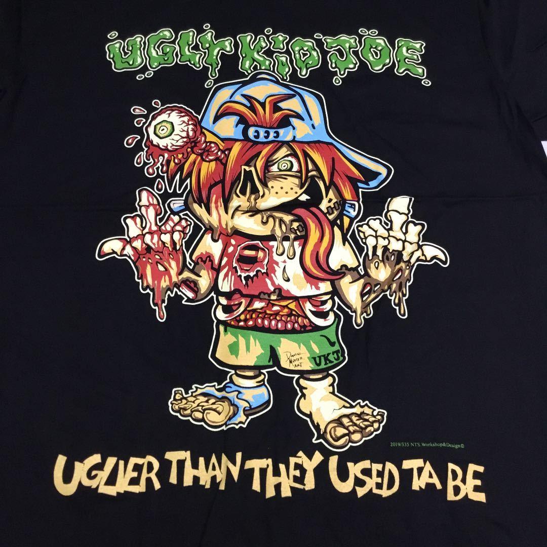 バンドデザインプリントTシャツ XLサイズ(2L)(LL) アグリーキッドジョー UGLY KID JOE SR5C3