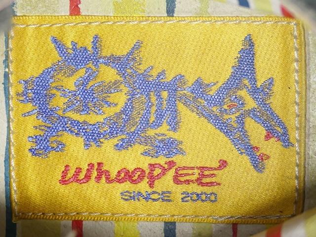 即決★whoop'EE'★27cm レザーハイカットスニーカー フーピー メンズ 緑 グリーン 本革 ダメージ加工 本皮 レースアップ 革靴 シューズ _画像6