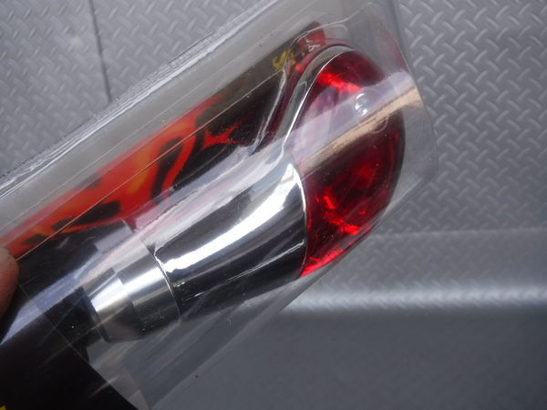 未使用 在庫有 即納 POLT YSA RACING JM-346 クリスタル レッド シフトノブ 車種不明 サイズピッチ不明 加工ベース わかる方どうぞ_画像3