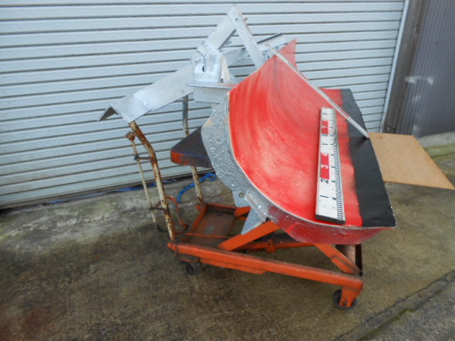クボタ 除雪 排土板  リア ブレード 160cm トラクター 除雪  引き取り限定!!1_画像3
