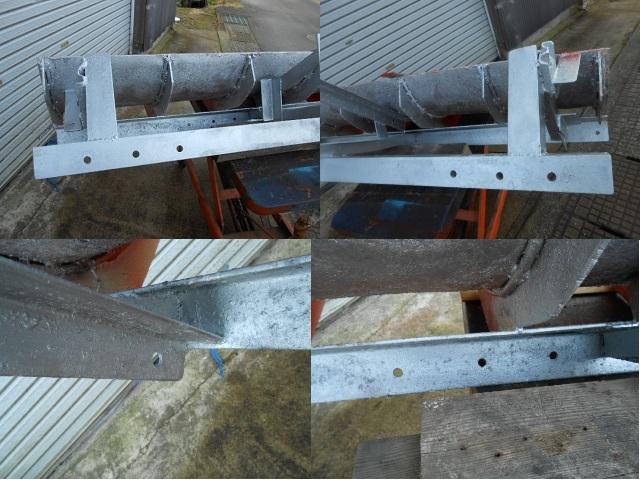 クボタ 除雪 排土板  リア ブレード 160cm トラクター 除雪  引き取り限定!!1_画像4