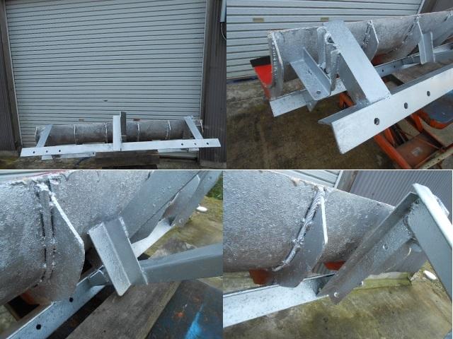クボタ 除雪 排土板  リア ブレード 160cm トラクター 除雪  引き取り限定!!1_画像8