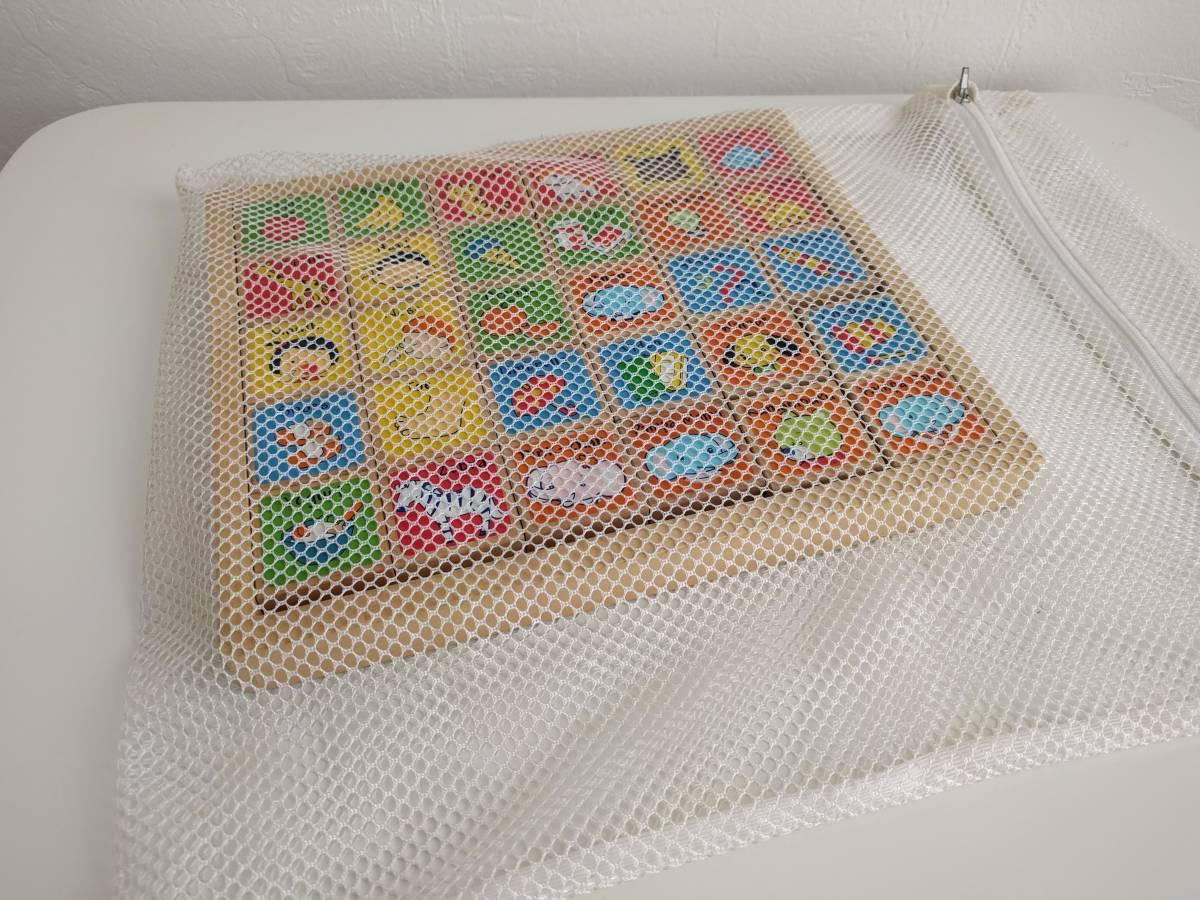 ★パンパースキャラクターの英語積み木(つみき・木製・アルファベット・送料無料)_画像3