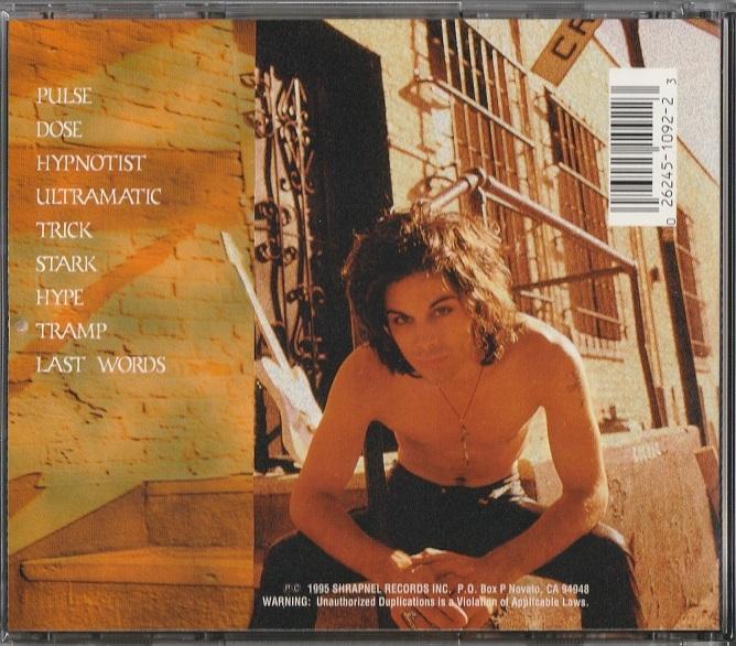 【中古】Richie Kotzen / The Inner Galactic Fusion Experience (輸入盤, 盤質良好, 1995年作品) #Gregg Bissonette, Jeff Berlin_画像2