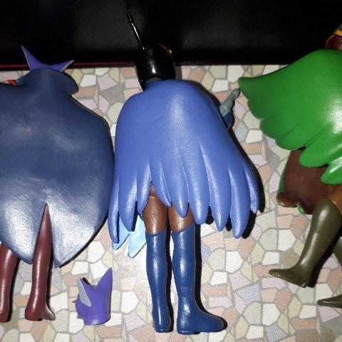(科学忍者隊ガッチャマン)フィギュア 3種類 セット!(コンドルのジョー)(ベルクカッツェ)(みみづくの竜) タツノコプロ _画像7