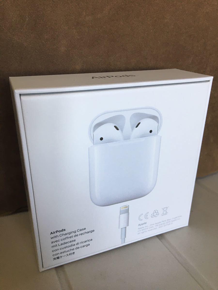 試着一回のみの使用Apple Airpods エアーポッズ 第2世代付属品全て有り_画像2