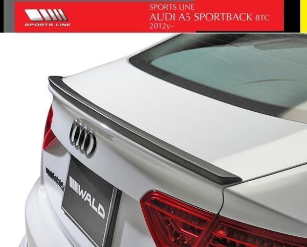 【M's】アウディ A5 8TC(2012y-)WALD SPORTS LINE トランクスポイラー//FRP製 AUDI ヴァルド バルド スポーツライン ウイング エアロ_画像1