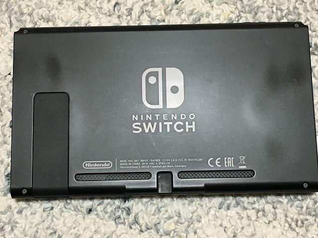Nintendo Switch 本体 中古 動作良好 ニンテンドースイッチ ネオン 任天堂 JOY HAC 24952_画像5