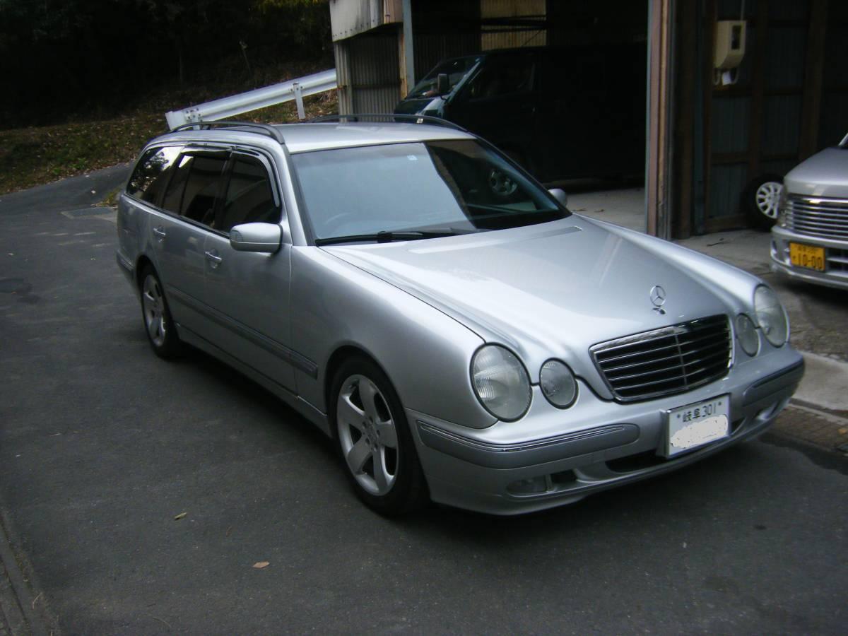 「即決38万! W210ベンツ ワゴン E240(希少2400cc) 後期モデル 109000km 岐阜」の画像1