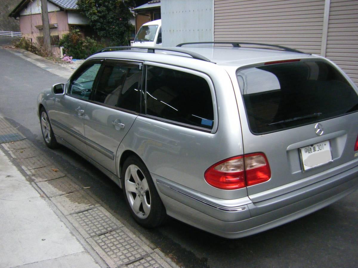 「即決38万! W210ベンツ ワゴン E240(希少2400cc) 後期モデル 109000km 岐阜」の画像2